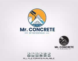 #46 for Mr Concrete of the Foothills Logo af alejandrorosario