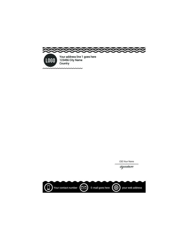 Inscrição nº 6 do Concurso para create a letter head