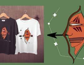 #13 cho Sagittarius Illustrated Graphic T-Shirt/Hoodie bởi Desrt99