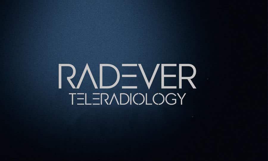 Kilpailutyö #10 kilpailussa Unique and Best font for 'Radever Teleradiology'