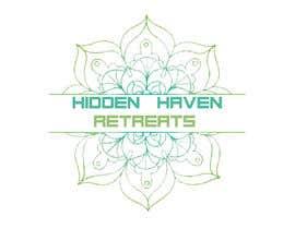 Nro 9 kilpailuun Design a logo for Hidden Haven Retreats käyttäjältä peternasser