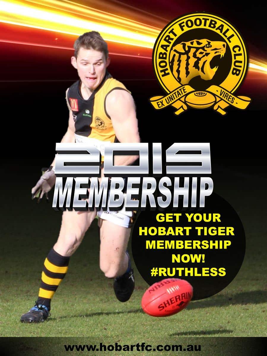 Penyertaan Peraduan #12 untuk Graphic Design - sporting team membership campaign