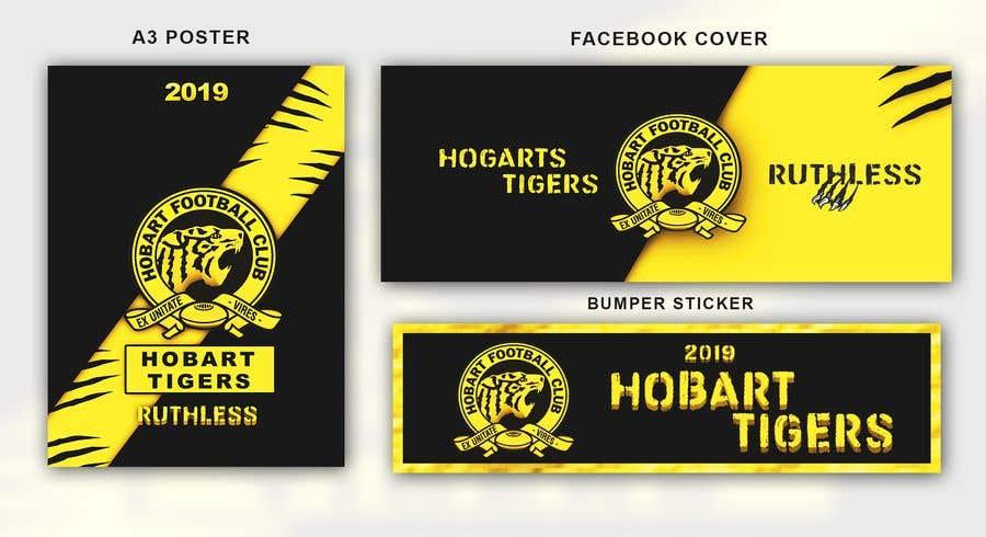 Penyertaan Peraduan #16 untuk Graphic Design - sporting team membership campaign