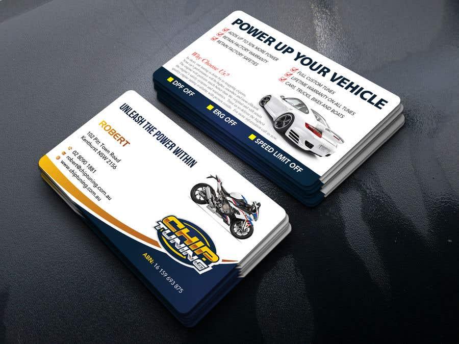 Kilpailutyö #139 kilpailussa REDESIGN BUSINESS CARDS