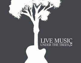 #12 for I need a logo to depict Live Music Under the Trees. We have a monthly music day in the Courtyard under the Trees. It should be a fun logo that stands out with nice corporat look by nortexmkd