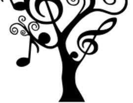 #18 for I need a logo to depict Live Music Under the Trees. We have a monthly music day in the Courtyard under the Trees. It should be a fun logo that stands out with nice corporat look by fadiamer22