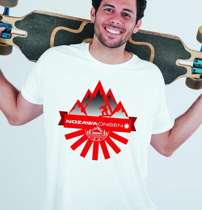 Konkurrenceindlæg #49 for Design a T Shirt for Ski Lodge in Japan