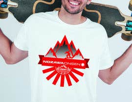 #49 for Design a T Shirt for Ski Lodge in Japan af priangkapodder