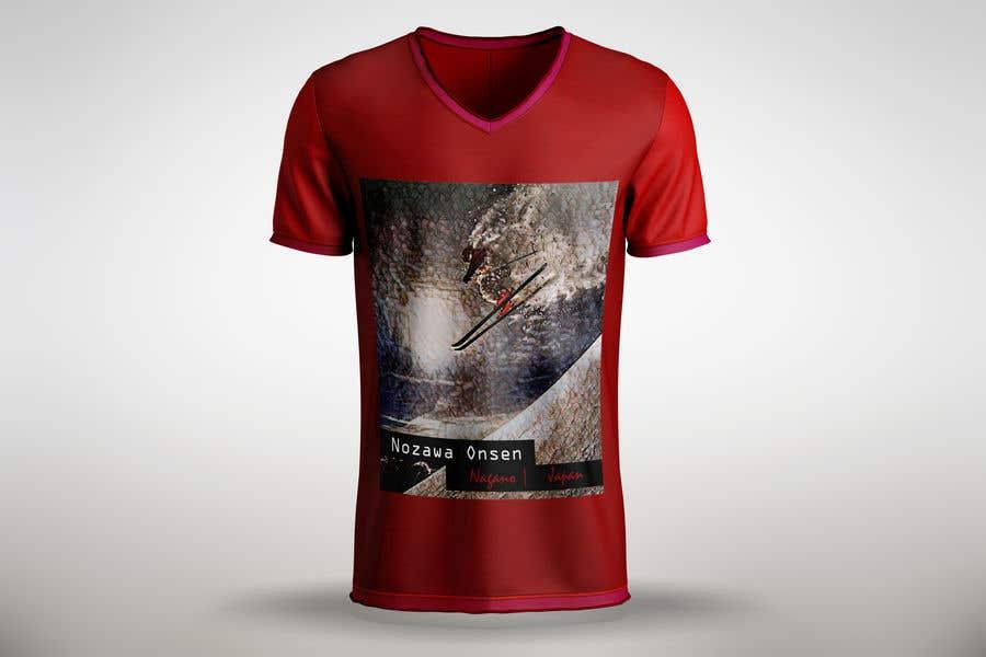 Konkurrenceindlæg #72 for Design a T Shirt for Ski Lodge in Japan