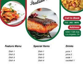 #85 for Bussines card and flyer for italian restaurant af starstormdozen