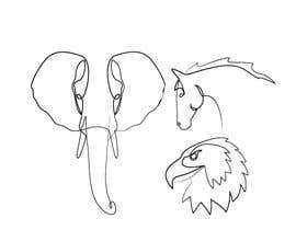 #110 cho Animals drawn with one line only bởi khaldiyahya