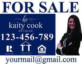 "#51 for Design My Real Estate Agent ""FOR SALE"" Sign by sakilahmed733"