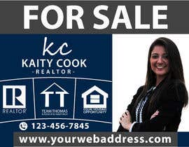 "#60 for Design My Real Estate Agent ""FOR SALE"" Sign by HashamRafiq2"