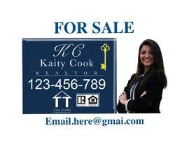 "#54 for Design My Real Estate Agent ""FOR SALE"" Sign by SwanzDesigns"