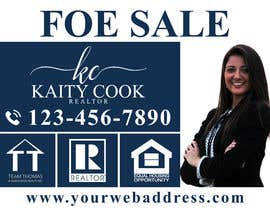 "#14 for Design My Real Estate Agent ""FOR SALE"" Sign by joney2428"