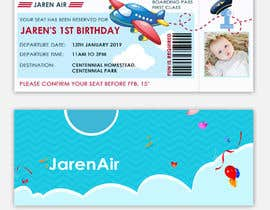 #8 for I need a Birthday Invitation Done av trandesign0105