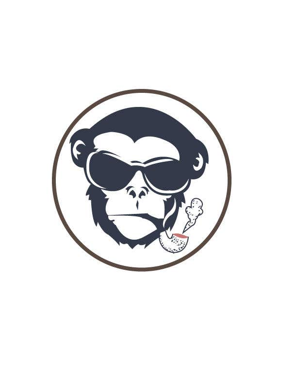Kilpailutyö #9 kilpailussa I need a logo designed for an upper market vape and marijuana store named Monkey Budz the logo must contain 2 monkey heads one smoking a blunt the other vaping. Something classy that will appear to both young and old generations