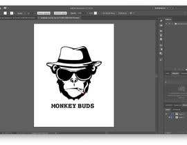 Nro 6 kilpailuun I need a logo designed for an upper market vape and marijuana store named Monkey Budz the logo must contain 2 monkey heads one smoking a blunt the other vaping. Something classy that will appear to both young and old generations käyttäjältä silverheart147
