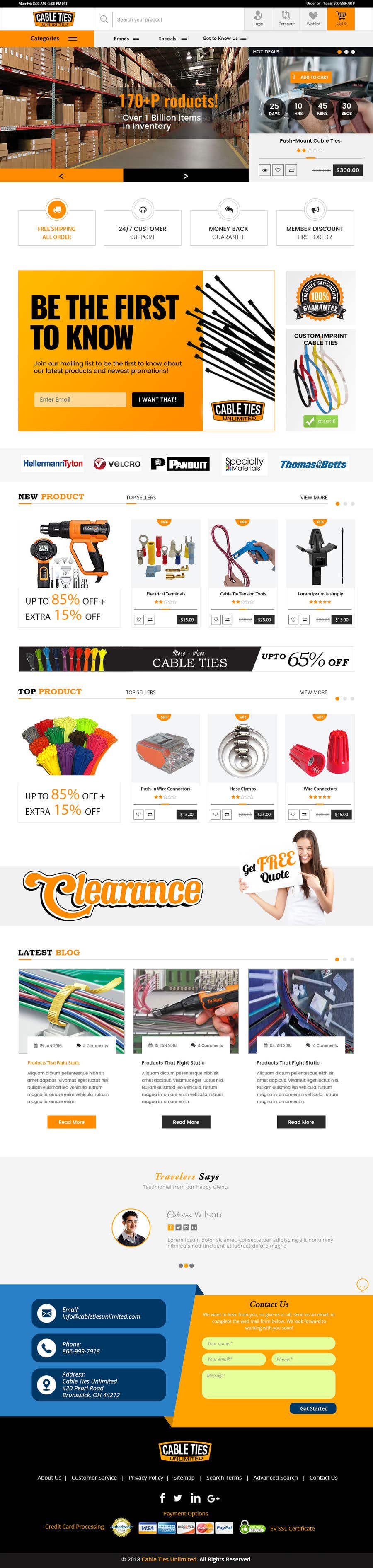 Kilpailutyö #30 kilpailussa Redesign an Ecommerce Website Homepage