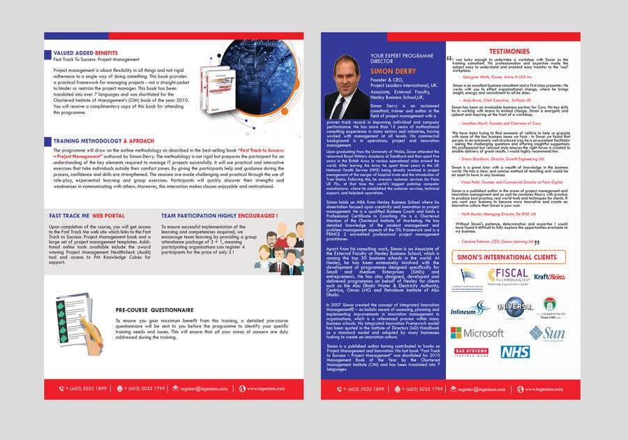 Kilpailutyö #53 kilpailussa PDF Brochure New Design