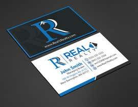 #92 for Business Card for a Real Estate Company av lipiakter7896