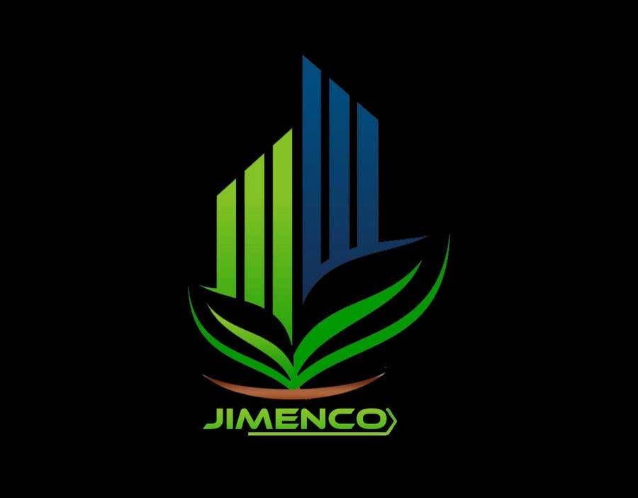 Proposition n°3 du concours Logo For a Real estate and agriculture Company in Black and Green. JIMENCO
