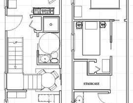 #10 for Floor plan for duplex house af ronaaron2