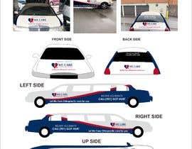 yunitasarike1 tarafından design a car wrap for a limousine için no 4