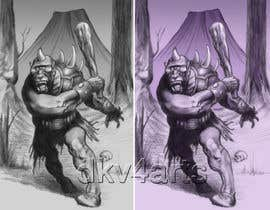 #9 for Need Cyclops character design for trading card game by dkv4arts