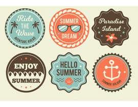 #21 for Design Vintage Stickers af mdsajeebrohani