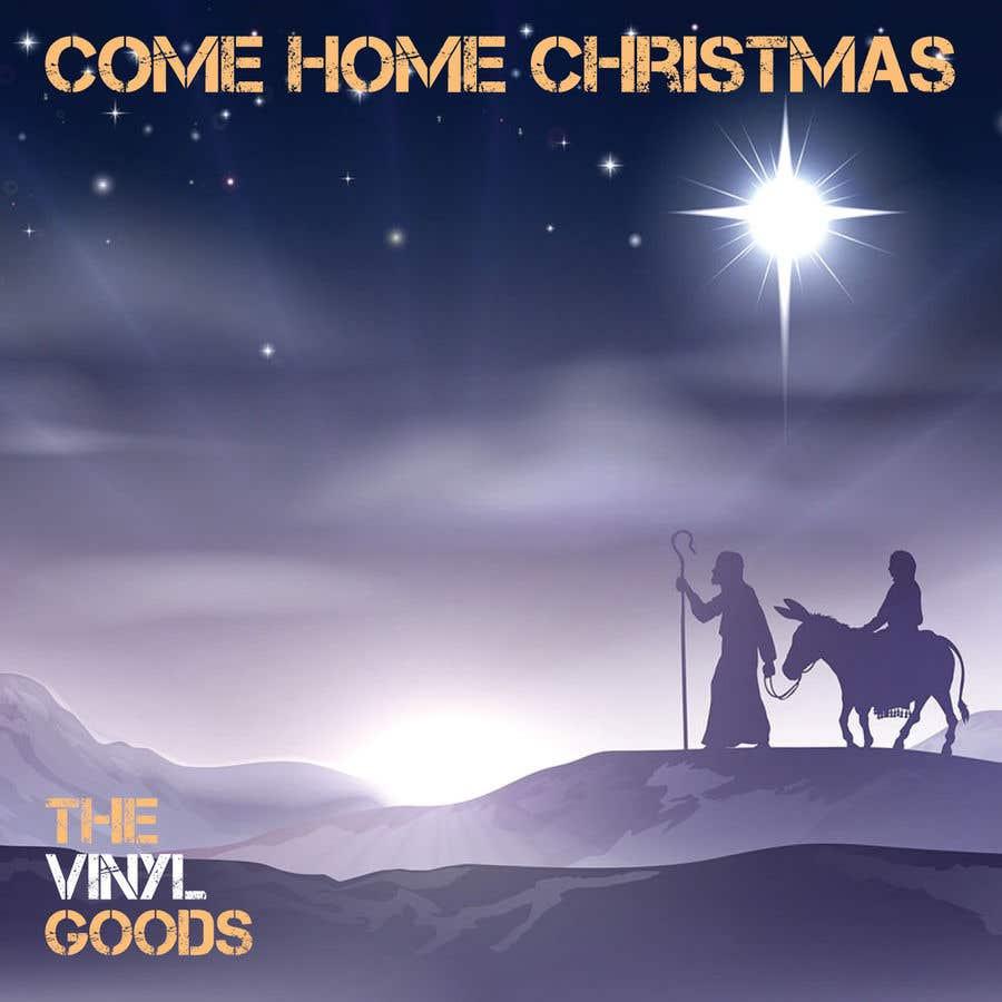 Entri Kontes #18 untukDesign cover artwork for original Christmas song: Come Home Christmas
