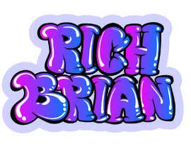 "#288 for ""RICH BRIAN"" custom style logo by Jasmmin"