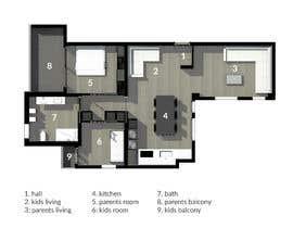 #32 untuk interior design oleh ariediluca
