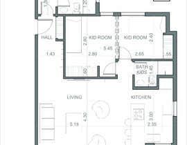 #29 untuk interior design oleh nachomdq87