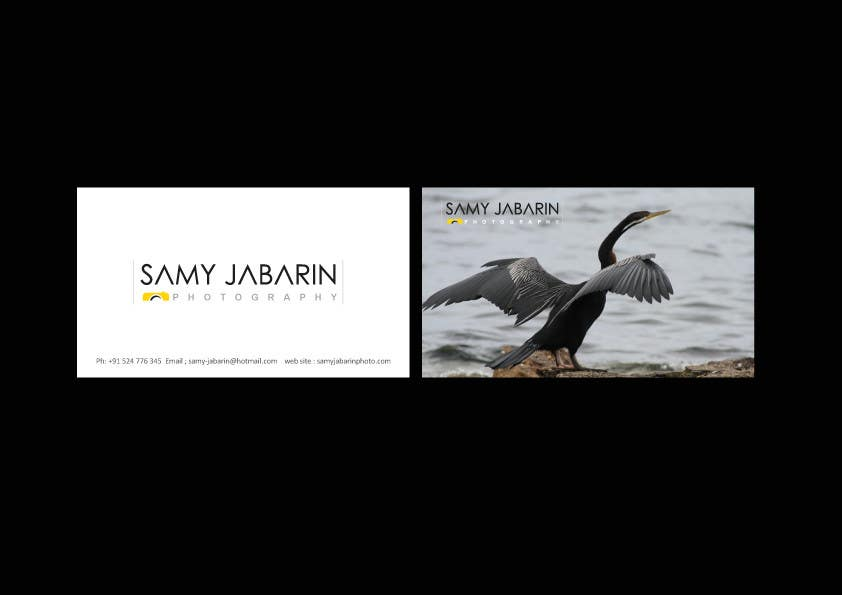 Business Cards Contest Entry #53 for Corporate identity for photography business