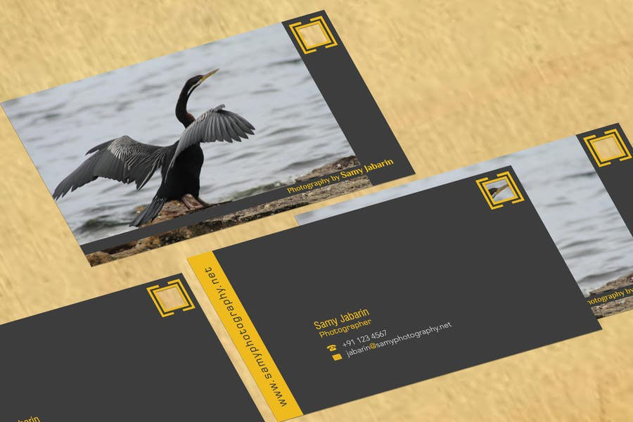 Contest Entry #33 for Corporate identity for photography business