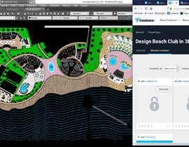 Nro 6 kilpailuun Design Beach Club in 3D Sketchup käyttäjältä dodyardiansyah