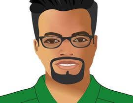 graphicexperta1 tarafından Make an animated vector illustration of a black male with green polo shirt. için no 26