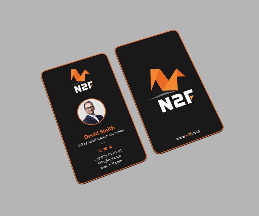 Entry 123 By Sabbir2018 For Design Business Card Carte De Visite