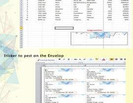 Nro 5 kilpailuun Excel to Sticker for postage käyttäjältä Skopurbo