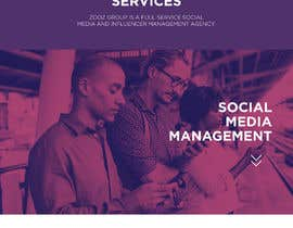 Nro 53 kilpailuun Website Design for Social Media Agency käyttäjältä Aerovisual