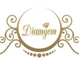 #55 cho Need good logo for a diamond business company name is DIAMGEM bởi Sevenrizha06