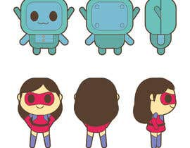 #20 for Kawaii style robots by behilustra