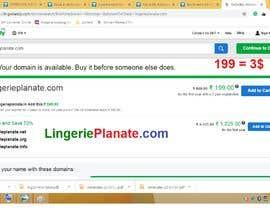 Nro 28 kilpailuun Brand name for lingerie online store käyttäjältä vishwajeetbb