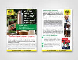#29 for Yerba mate SALES flyer, double sided size A5. af dinesh0805