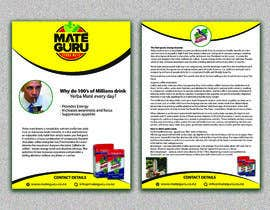 #17 for Yerba mate SALES flyer, double sided size A5. af designsourceit