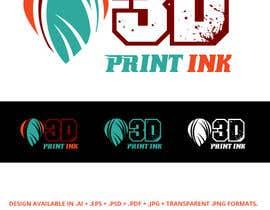 #177 for Logo for name 3DprintINK by JohnDigiTech