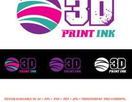 #178 for Logo for name 3DprintINK by JohnDigiTech