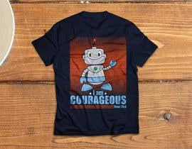 """#61 para """"I am Courageous. Deut 31:6"""" - BOYS Tshirt Design por gmsuruj001"""