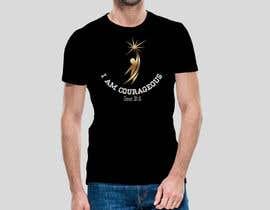 "#72 para ""I am Courageous. Deut 31:6"" - BOYS Tshirt Design por Msrohani420"